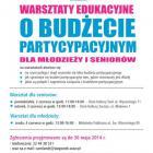 Budżet partycypacyjny - warsztaty edukacyjne