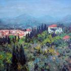 W Rampie wystawa malarstwa Jerzego Cicheckiego
